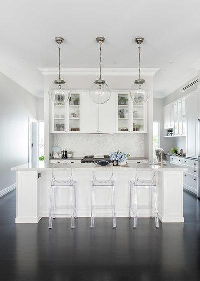 Contemporáneo Cocina by Colourcube Interiors