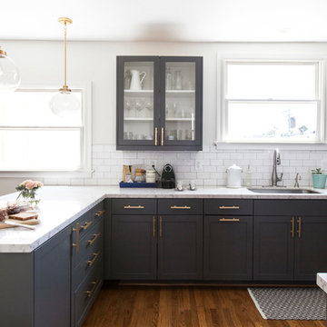 Classic Meets Contemporary Kitchen and Bath Remodel