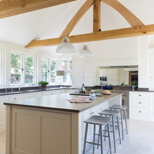 Classic Painted Bespoke Kitchen | The Old Forge House, Hertfordshire