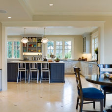 Traditional Kitchen by Menter Architects LLC