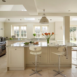 Classic shaker kitchen with a contemporary twist