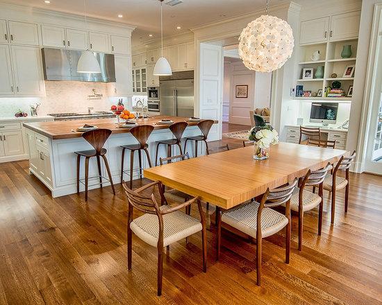 kitchen office nook | houzz