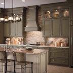 Kitchen main floor oakville traditional kitchen for Classic kitchen cabinets toronto