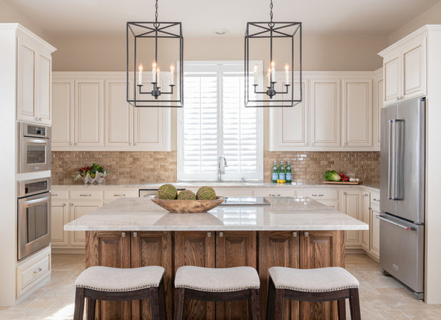 Traditional Kitchen by Interiors by Kathy Rollins, LLC