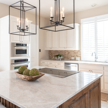 Classic traditional West Plano Kitchen Update
