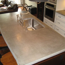 Traditional Kitchen Countertops by Concrete Elegance Inc.