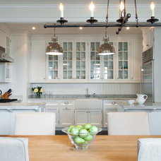 Traditional Kitchen by M.S. Architecture
