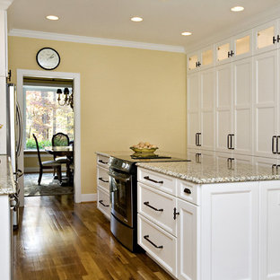 Classic White and Warm Yellow Create a Perfectly Inviting Space