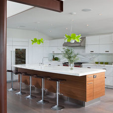 Contemporary Kitchen by Bluewater Surfaces