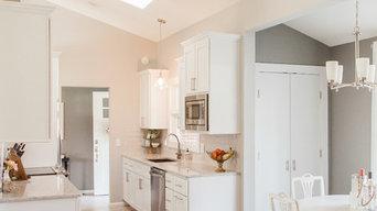 Classic White Galley Kitchen