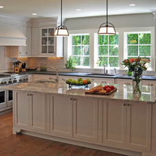 Traditional Kitchen by FitzPatrick Design and Cabinetry