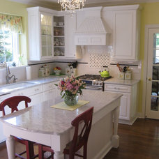 Traditional Kitchen by Charlotte Stafford of McDaniels Sales Company
