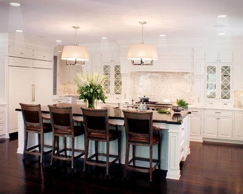 White Kitchen Light Wood Floors