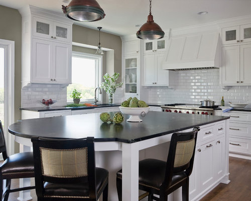 Classic White Kitchen Home Design Ideas Pictures Remodel And Decor