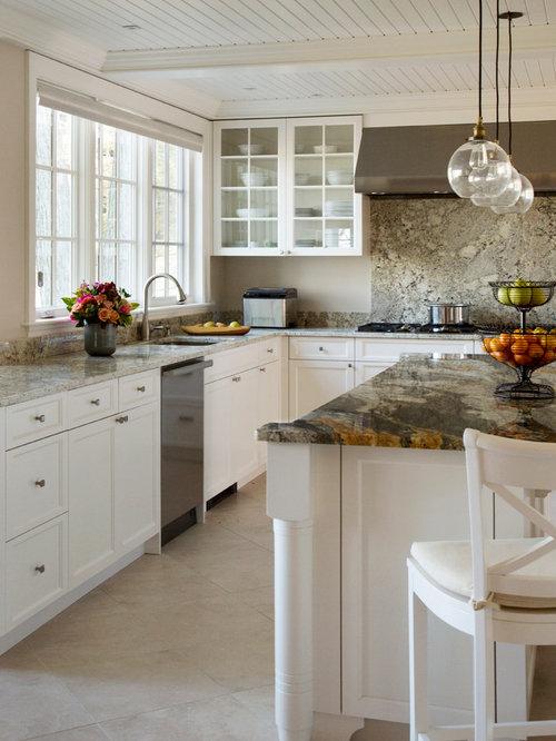 Classic White Kitchen Houzz