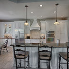 Classic White Kitchen Remodel - Traditional - Kitchen - Orlando - by Signature Kitchens