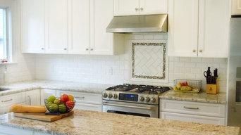 Classic white kitchen renovation