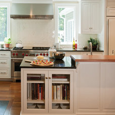 Traditional Kitchen by Crown Point Cabinetry