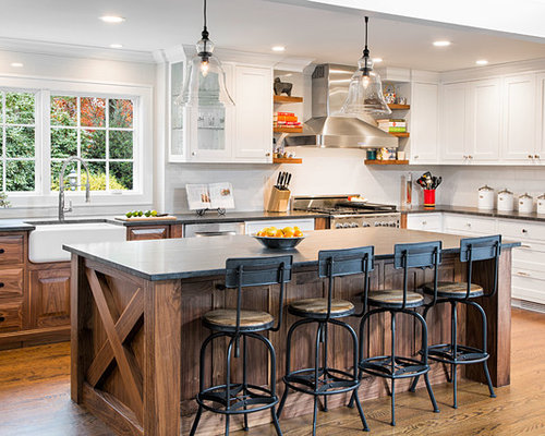 8,634 Large Farmhouse Kitchen Design Ideas & Remodel ...