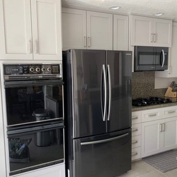 Classic, White Shaker Cabinets