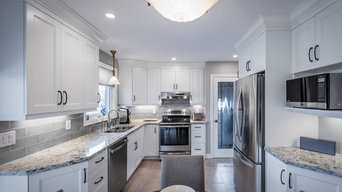 Classic White Shaker Transitional Kitchen