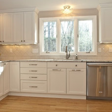 Traditional Kitchen by KitchenVisions LLC