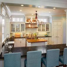 Traditional Kitchen by Michael Lauren Development LLC