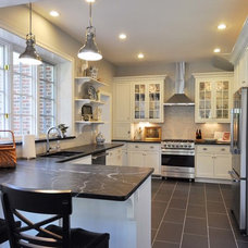 Traditional Kitchen by Grand Home Solutions, Inc