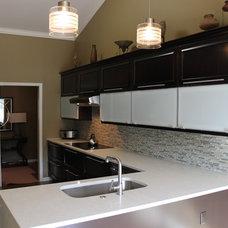 Contemporary Kitchen by Kurtis Kitchen & Bath Centers