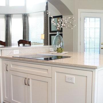 Clean & White Kitchen