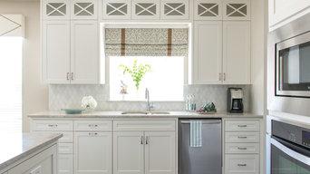 Clean & White Transitional Kitchen