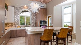 Clean Design Gourmet Kitchen