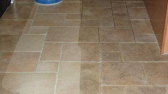 Clean Floors, Happy Customer