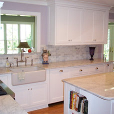 Traditional Kitchen by Ben Dial/ Stedman House Richmond, VA.