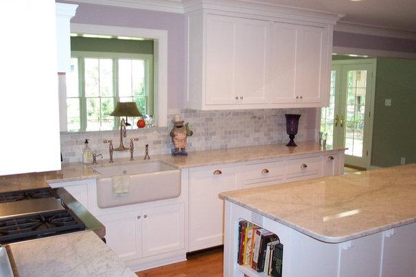 Traditional Kitchen by Ben Dial/ Stedman House Richmond, VA.