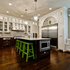 Transitional Kitchen by Celtic Custom Homes