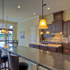 Traditional Kitchen by Adam Wilson Custom Homes
