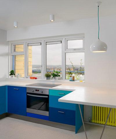 Spiseplads i lille køkken