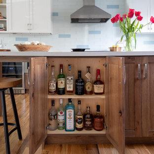 Clever Kitchen Island Storage