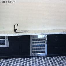 Contemporary Kitchen by Cement Tile Shop