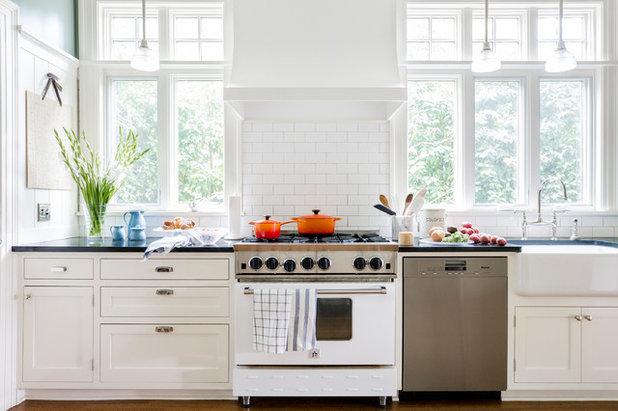 Transitional Kitchen by Jenna Sheingold Studio