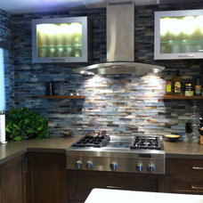 Contemporary Kitchen by Grace Blu Designs, Inc.