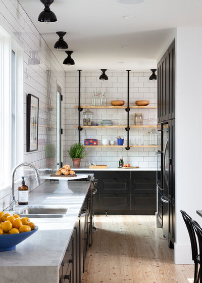 Scandinavian Kitchen by Texas Construction Company