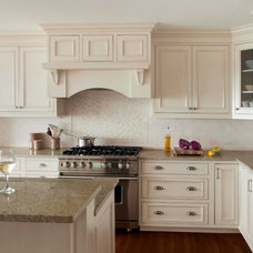 Beach Style Kitchen by LeBlanc Design