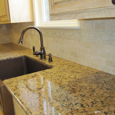 Mediterranean Kitchen by Clint Shaw General Contractor
