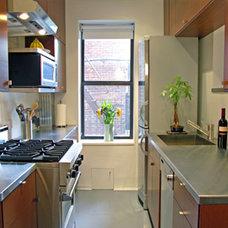 Modern Kitchen by MaryEllen Kowalewski Architect
