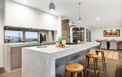 10 Solid Ways to Feature Concrete in Your Home