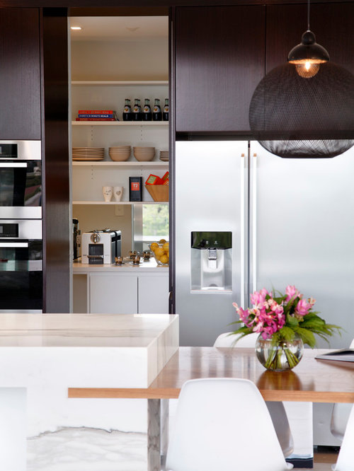 Best walk in pantry design ideas remodel pictures houzz for Modern kitchen pantry