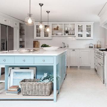 Closa Blue Suffolk Neptune Kitchen