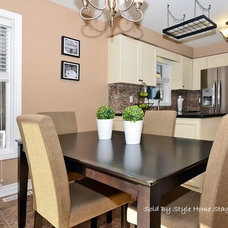 Transitional Kitchen by Sold By Style Home Staging & Redesign